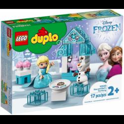 Fiesta de Té de Elsa y Olaf...